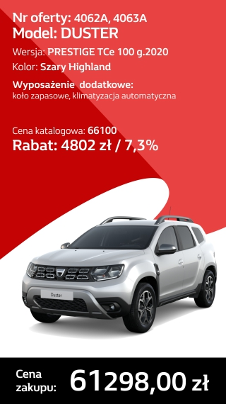 DUSTER 4062A