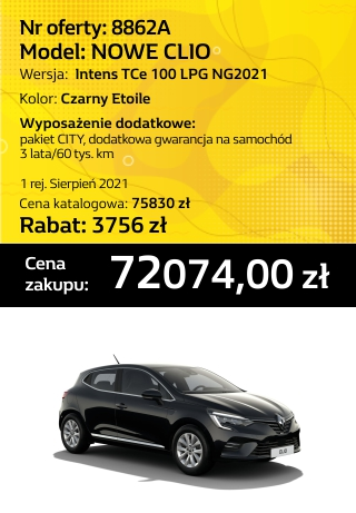 CLIO 8862a