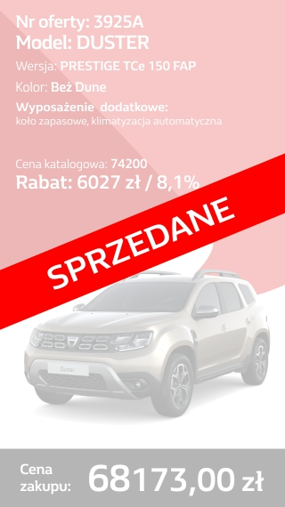 DUSTER 3925A