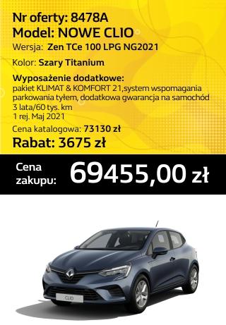 CLIO 8478a