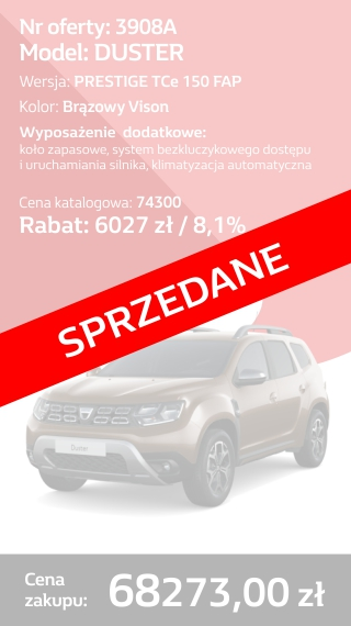 DUSTER 3908A