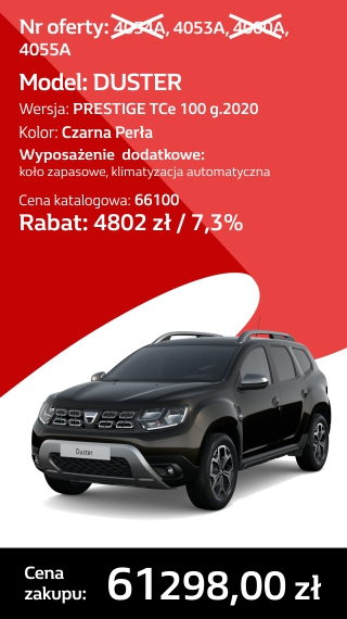 DUSTER 4054A
