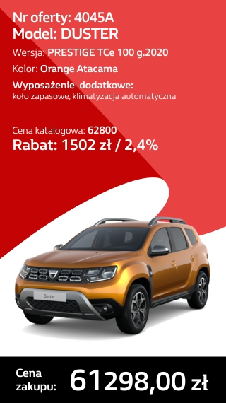 DUSTER 4045A
