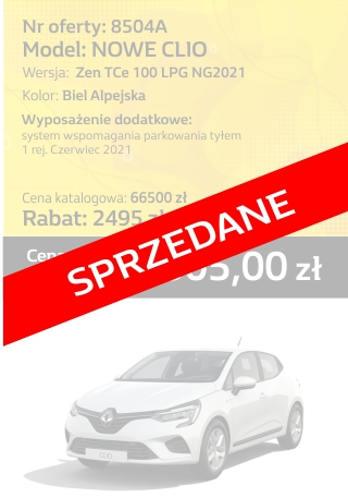 CLIO 8504a