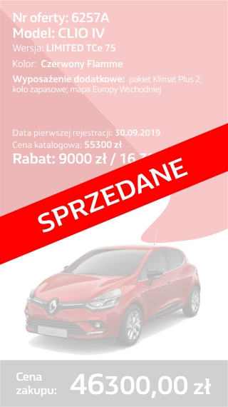 CLIO 6257A