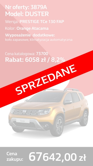 DUSTER 3879A
