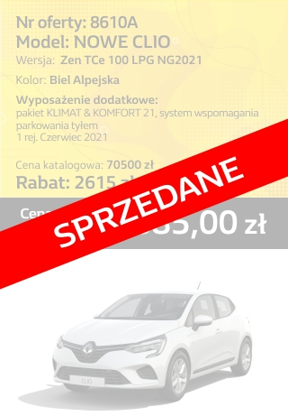 CLIO 8610a