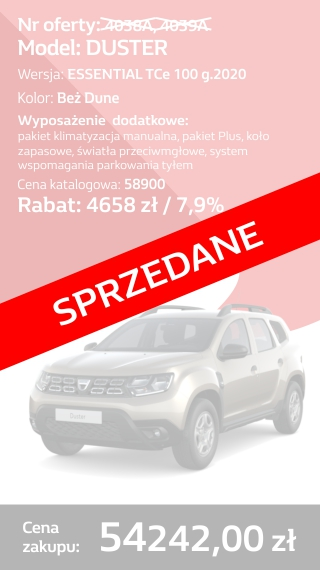 duster 4038a i 4039a
