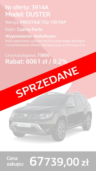DUSTER 3914A