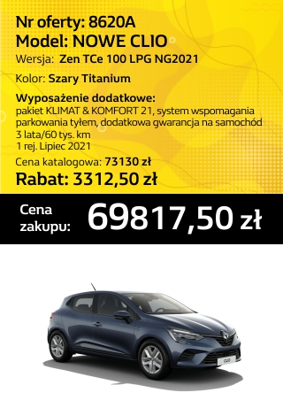 CLIO 8620a