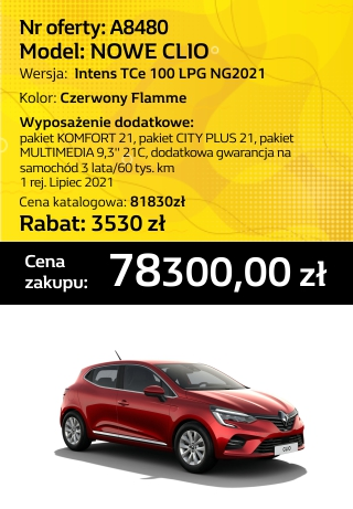 CLIO a8480