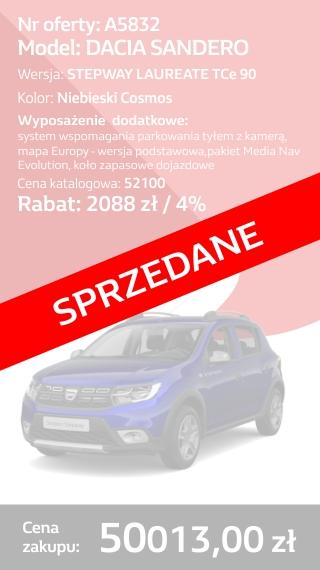 SANDERO A5832