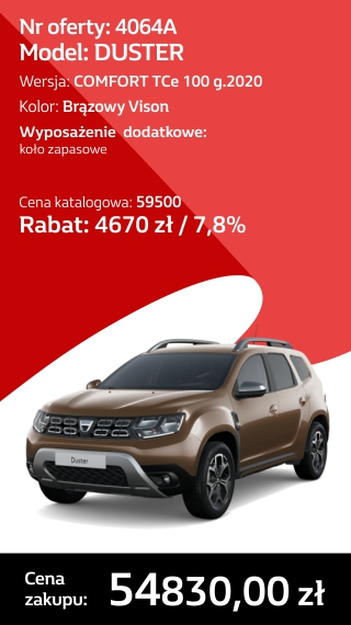 DUSTER 4064A