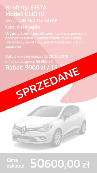 CLIO 6357A
