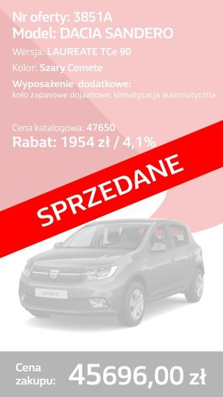 SANDERO 3851A