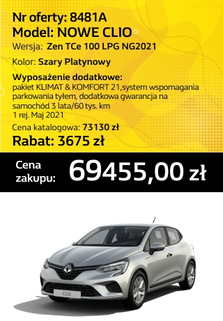 CLIO 8481a
