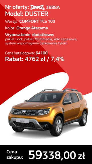 DUSTER 3887A I 3888A