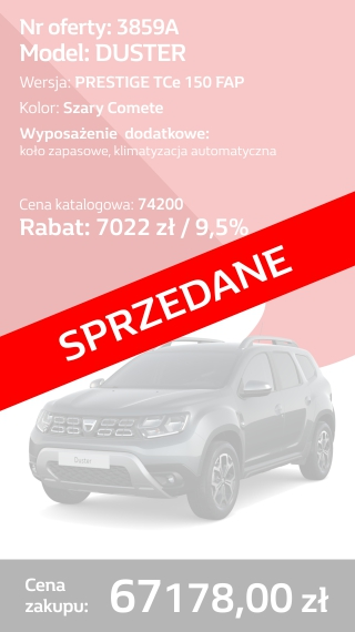 DUSTER 3859A