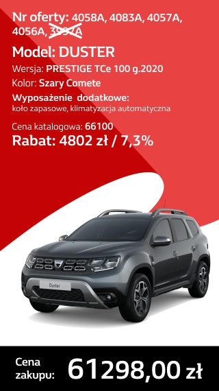 DUSTER 4058A