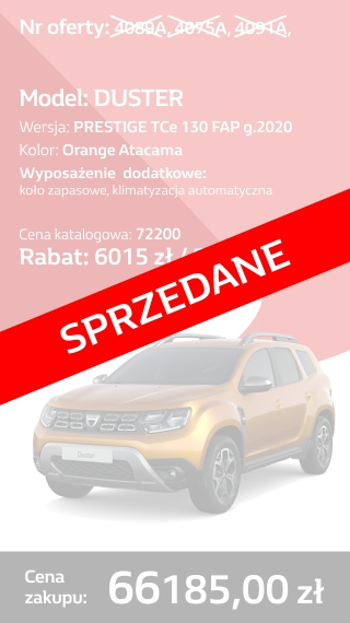 DUSTER 4089A