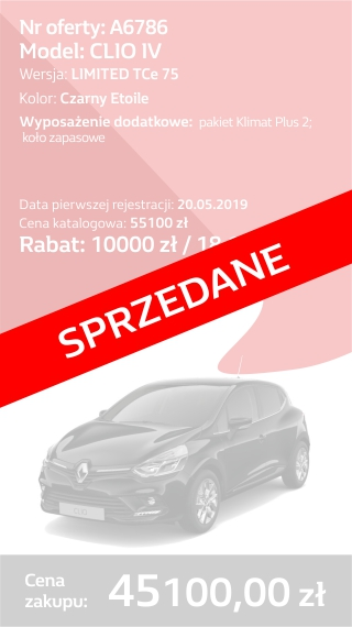 CLIO A6786