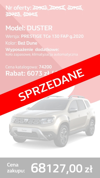 DUSTER 4090A