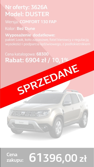 Duster 3626a