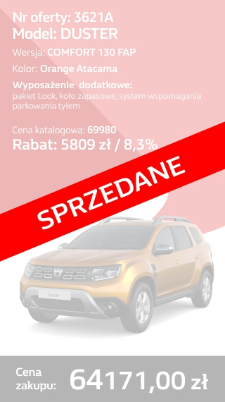 DUSTER 3621A